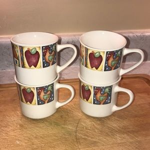 4 Gibson cups excellent condition
